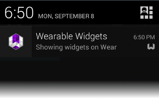 Wearable Widgets - Compatibility