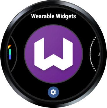 Wearable Widgets on Wear OS